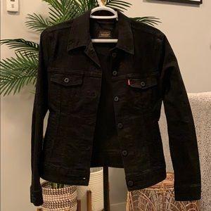 Black Levi's Denim Jacket